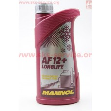Антифриз AF12 концентрат 1:1 красный, 1л