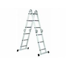 Лестница шарнирная Werk LC2416 (4х16)