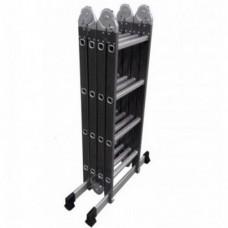 Лестница шарнирная комбинированная Werk LC5416B (4x4)